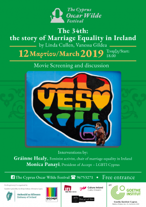 Cyprus : The 34th: The Story of Marriage Equality in Ireland