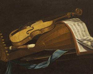 Cyprus : The violin and the lute