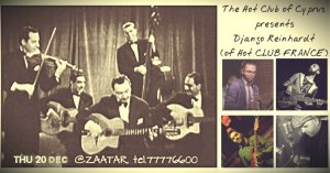 Cyprus : Django Reinhardt - by the 'The HOT CLUB of Cyprus'