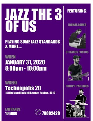 Cyprus : Jazz the 3 of us
