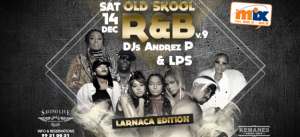 Cyprus : Mix FM's Old Skool RnB Vol.10 Larnaca Edition