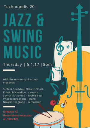 Cyprus : Music night with jazz and swing songs