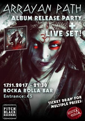 Cyprus : Arrayan Path - New Album Official Release Party