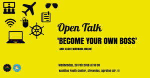 Cyprus : Open talk. Become your own boss & start working online