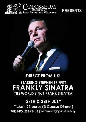 Cyprus : Tribute to Frank Sinatra by Stephen Triffitt