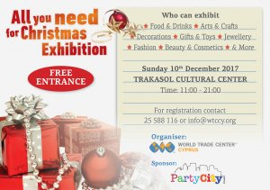 Cyprus : All You Need for Christmas Exhibition 2017