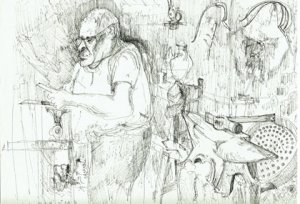 Cyprus : Life in Lapithos: decoding the drawings of Christopher Connell