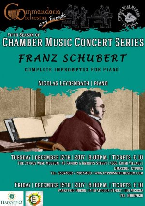 Cyprus : Franz Schubert. Complete Impromptus for piano