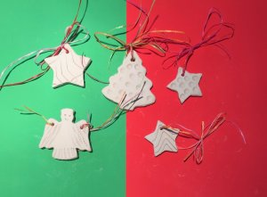 Cyprus : Make your own ceramic Christmas Decorations