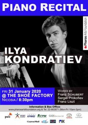Cyprus : Piano Recital: Ilya Kondratiev