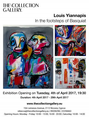Cyprus : Louis Yiannapis - In the footsteps of Basquiat