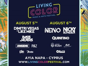Cyprus : Living Color Music & Arts Festival