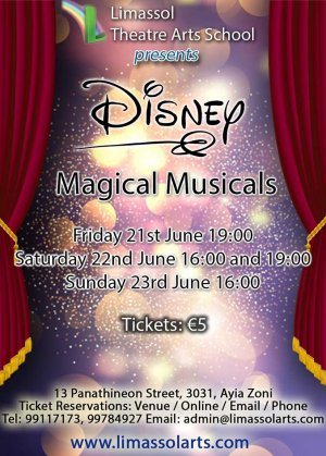 Κύπρος : Disney Magical Musicals