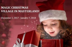 Cyprus : Magic Christmas Village in Masterland