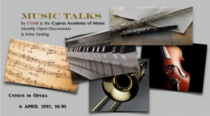 Cyprus : Music Talks - Cyprus in Opera