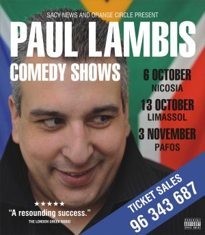 Cyprus : Paul Lambis Comedy Shows