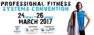 Cyprus : Professional Fitness Systems Convention 2017