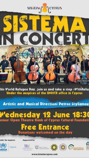 Cyprus : Sistema in Concert - World Refugee Day 2019