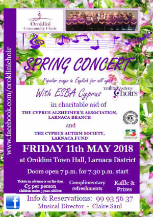 Cyprus : Spring Concert for Charity