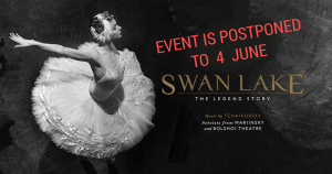 Cyprus : Swan Lake. The Legend Story