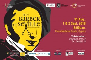 Cyprus : The barber of Seville (20th Pafos Aphrodite Festival)