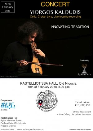 Cyprus : Concert Yiorgos Kaloudis - Innovating Tradition