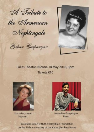 Cyprus : A Tribute to the Armenian Nightingale