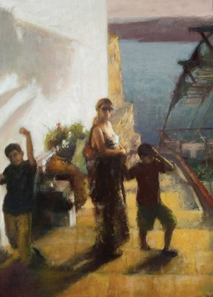 Cyprus : Painting exhibition by Anastasios Motitis