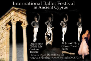 Cyprus : International Ballet Festival (Limassol)