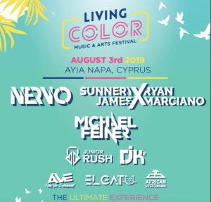 Cyprus : Living Color Music & Arts Festival 2019