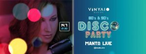 Cyprus : Mando 80s 90s Disco Party