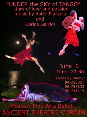 Cyprus : Under the Sky of Tango